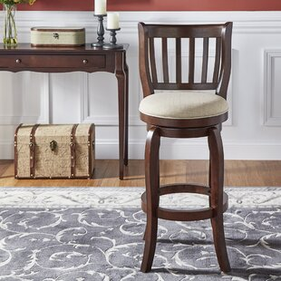 Morgan Bar & Counter Swivel Stool by Three Posts