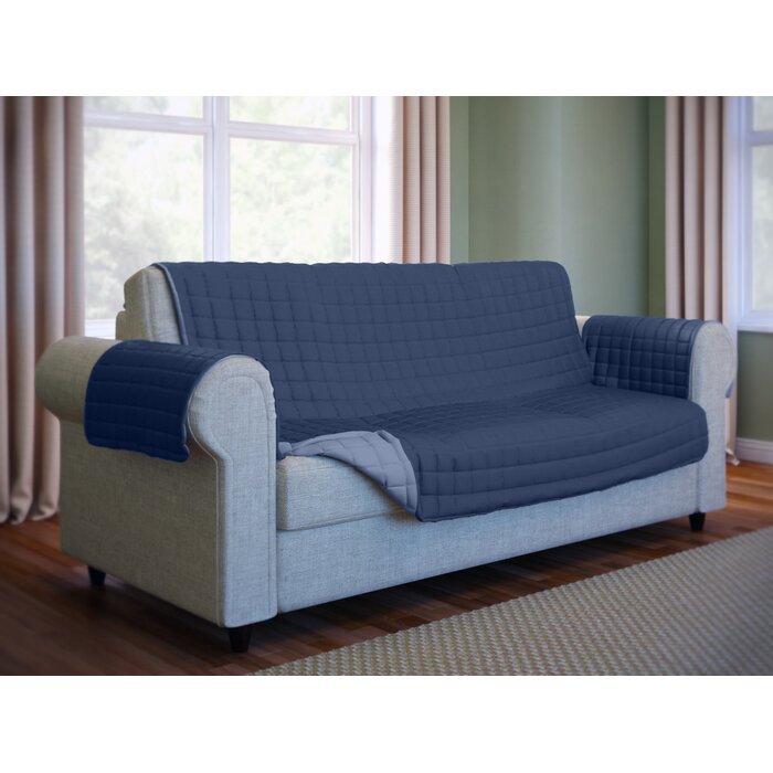 Wayfair Basics Box Cushion Sofa Slipcover
