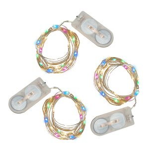 6.33 ft. 60-Light Fairy String Light (Set of 3)