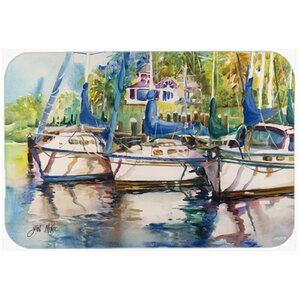 Safe Harbour Sailboats Kitchen/Bath Mat