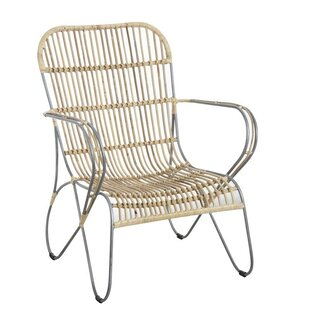Nobleboro Natural Armchair By Bay Isle Home
