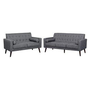 Compare prices Brody 2 Piece Living Room Set by Turn on the Brights Reviews (2019) & Buyer's Guide