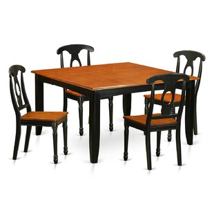 Pilning Contemporary 5 Piece Dining Set August Grove