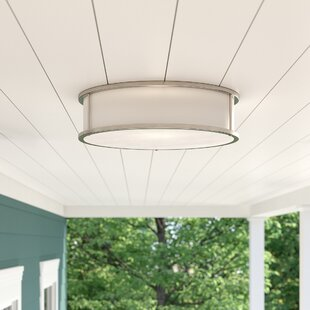 Tatom 3-Light Outdoor Flush Mount