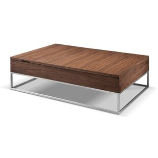 Ashburt Metal and Wood Lift Top Coffee Table