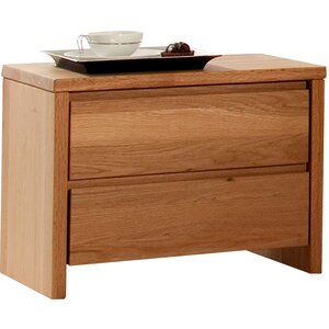Nachttisch Starwood mit 2 Schubladen von MS Schuon