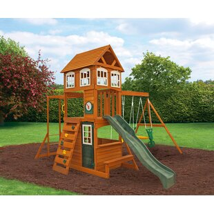KidKraft Cranbrook Wooden Swing Set
