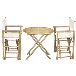 Bamboo54 3 Piece Bistro Set