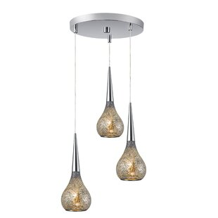 Torine 3-Light Mini Pendant Cl..