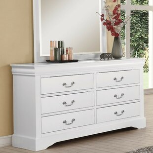 Bastian Wood 6 Drawer Double Dresser