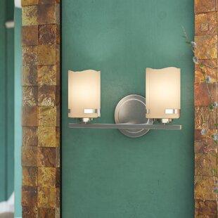 Loon Peak Wantage 2-Light LED Vanity Light