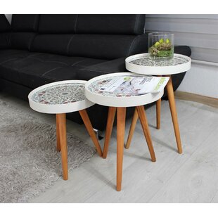 Fredericktown 3 Piece Nest Of Tables By Bloomsbury Market
