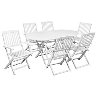 Coates 6 Seater Dining Set By Sol 72 Outdoor