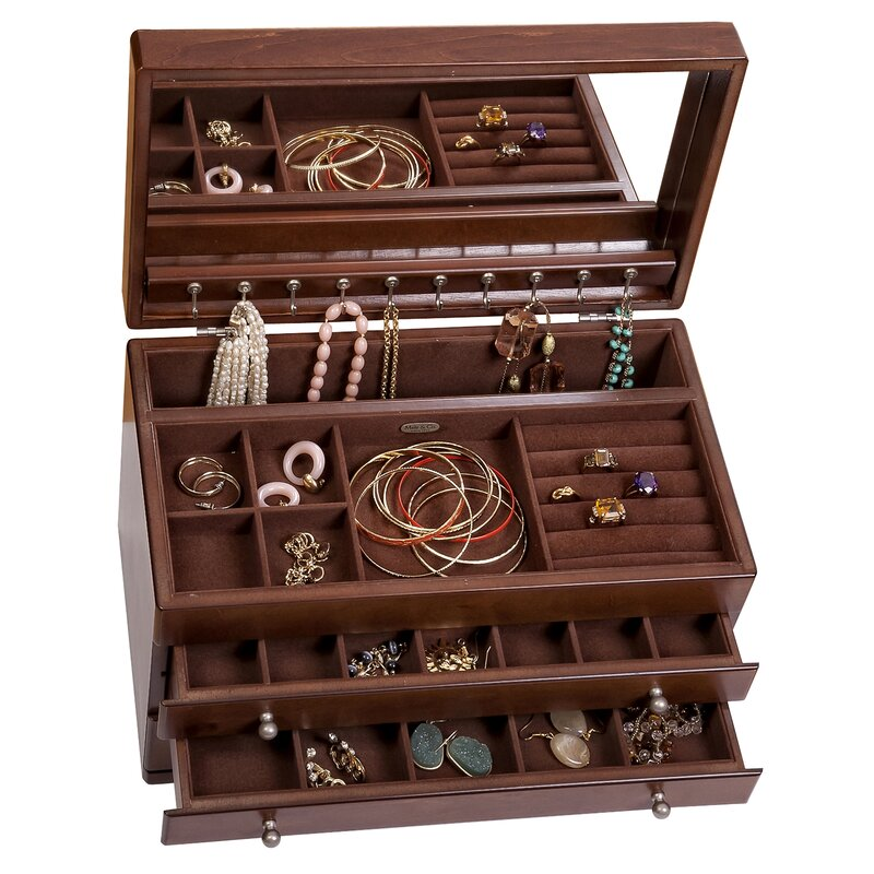 Birch Lane™ Meyer Jewelry Box & Reviews | Wayfair