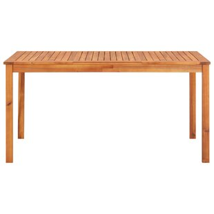 Abell Wood Dining Table By Sol 72 Outdoor