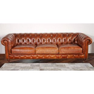 Chester Bay Leather Chesterfield Sofa