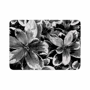 Julia Grifol Leaves Floral Memory Foam Bath Rug
