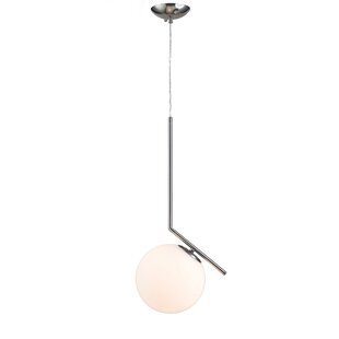Kingston Seymour 1-Light Globe Pendant by Mercer41