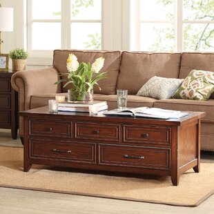 Read Reviews Brandon Coffee Table with Storage By Harbor House