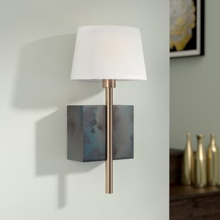 Brinsley 1-Light Armed Sconce by Willa Arlo Interiors