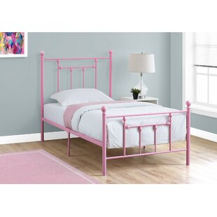 Lannon Twin Slat Bed by Charlton Home