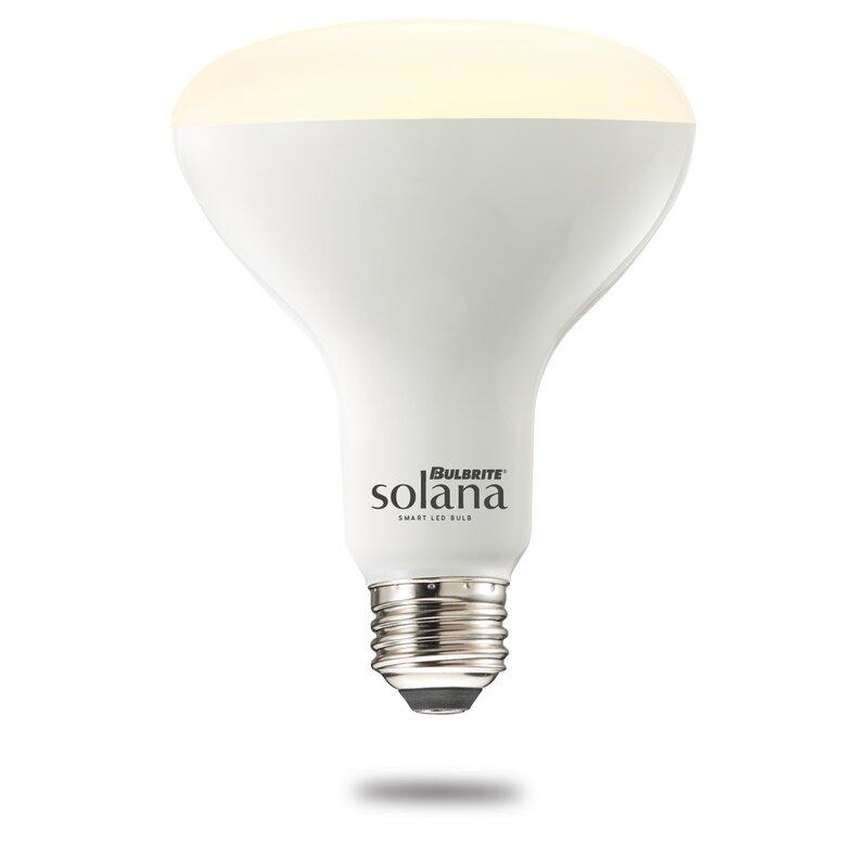 Bulbrite Solana 8 Watt 65 Watt Equivalent Br30 Led Smart Dimmable Light Bulb Tunable White E26 Medium Standard Base Wayfair