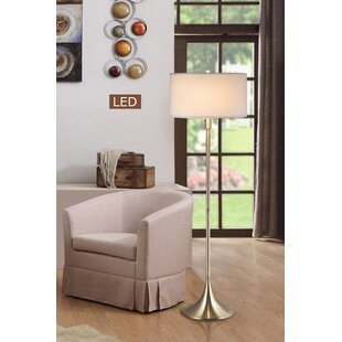 Check Prices Uli 2-Light 63 LED Floor Lamp By Red Barrel Studio