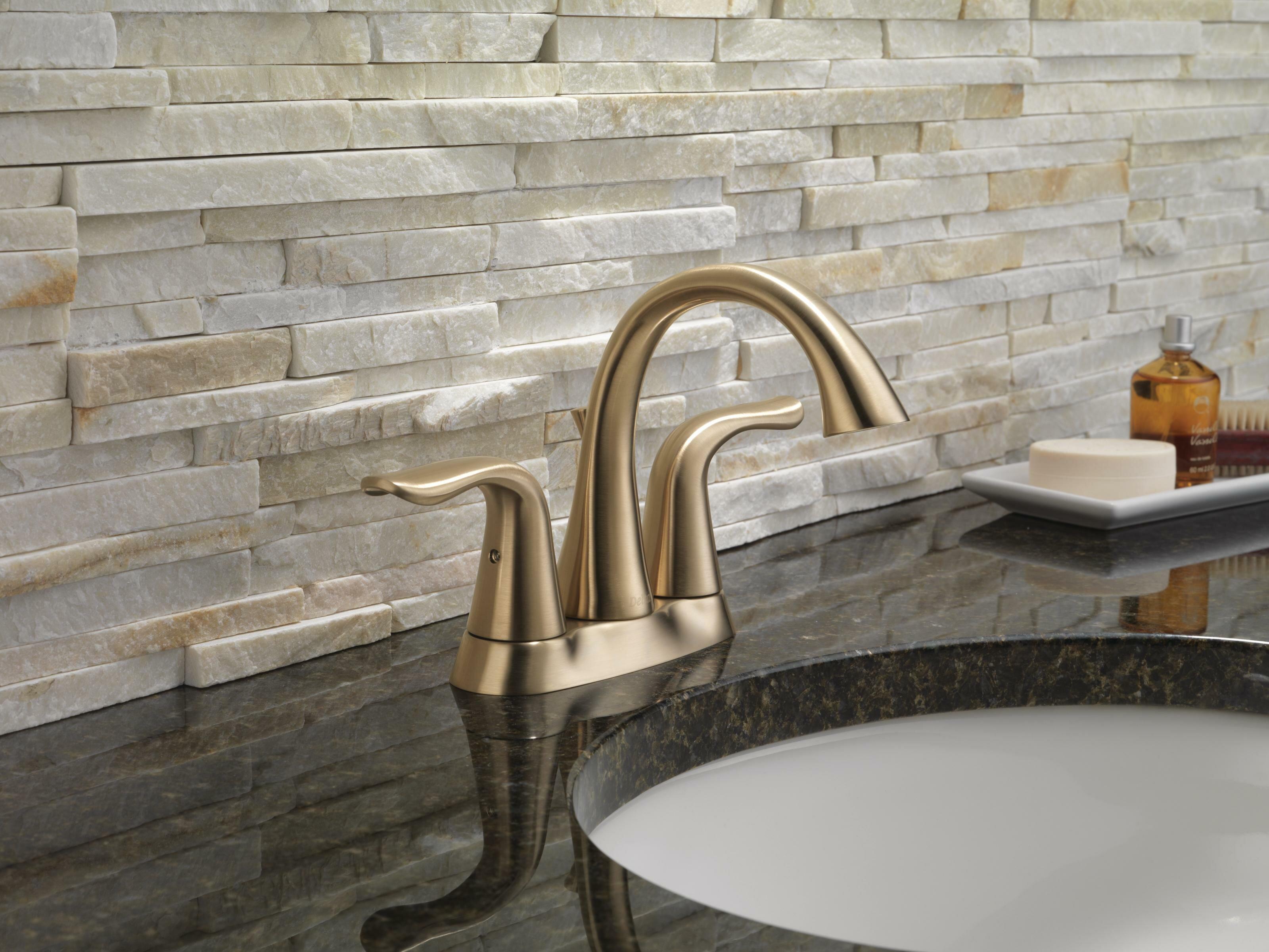 2538 Ssmpu Dst Mpu Dst Czmpu Dst Delta Lahara Centerset Bathroom Faucet With Drain Assembly And Diamond Seal Technology Reviews Wayfair