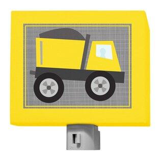 Oopsy Daisy Ways To Wheel - Dump Truck Night Light