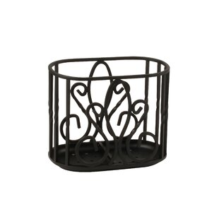 Best Price Cynthia Utensil Holder in Black By Fleur De Lis Living