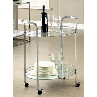 Ebern Designs Aburizik Enstar Bar Cart