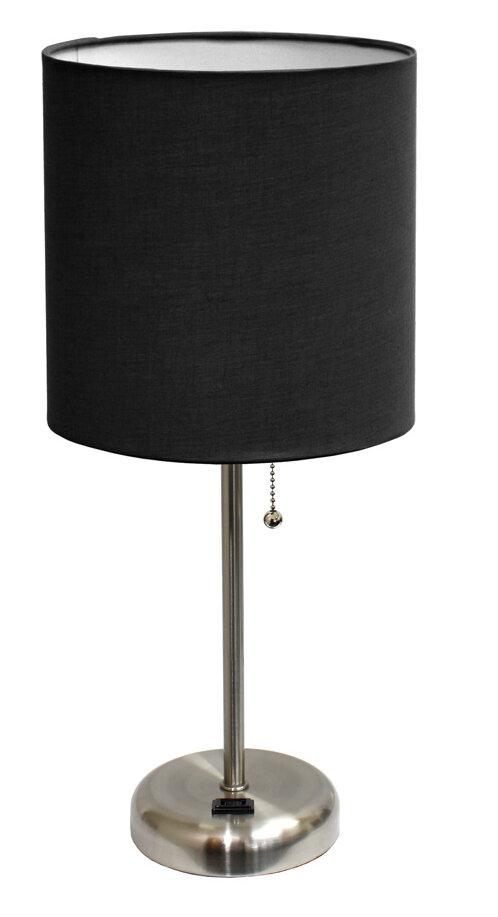Table Lamp With Black Shade Wayfair