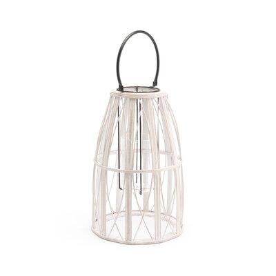 "Web Bamboo Lantern Coaster Nj-08810-2516 Size: 22.8"" H X 10.6"" W X 10.6"" D"
