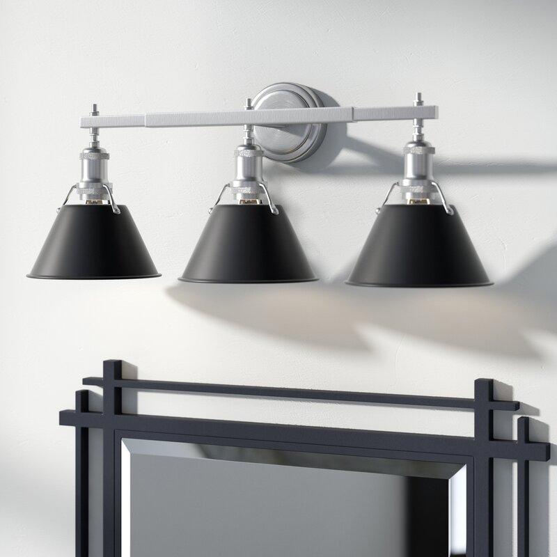 Trent Austin Design Weatherford 3-Light Vanity Light & Reviews | Wayfair