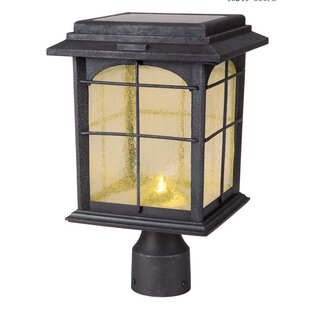 Longshore Tides Heflin Solar 1-Light LED Lantern Head