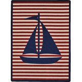 Nautical Traditional Area Rugs You Ll Love In 2021 Wayfair
