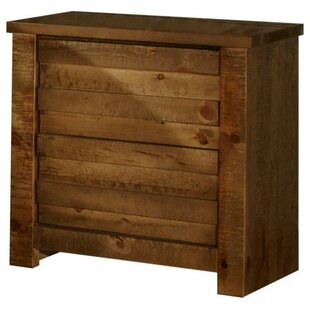 Georgio 2 Drawer Nightstand by World Menagerie Design