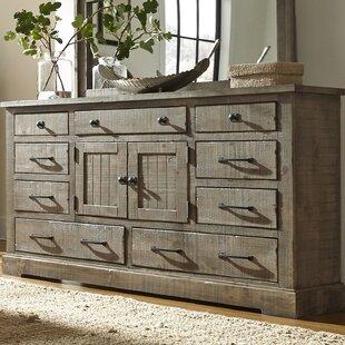Compare Arthurs 9 Drawer Combo Dresser by Lark Manor