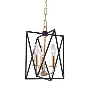 Willa Arlo Interiors Fitz 3-Light Square/Rectangle Pendant