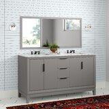 Tappahannock 60 Double Bathroom Vanity Set by AllModern
