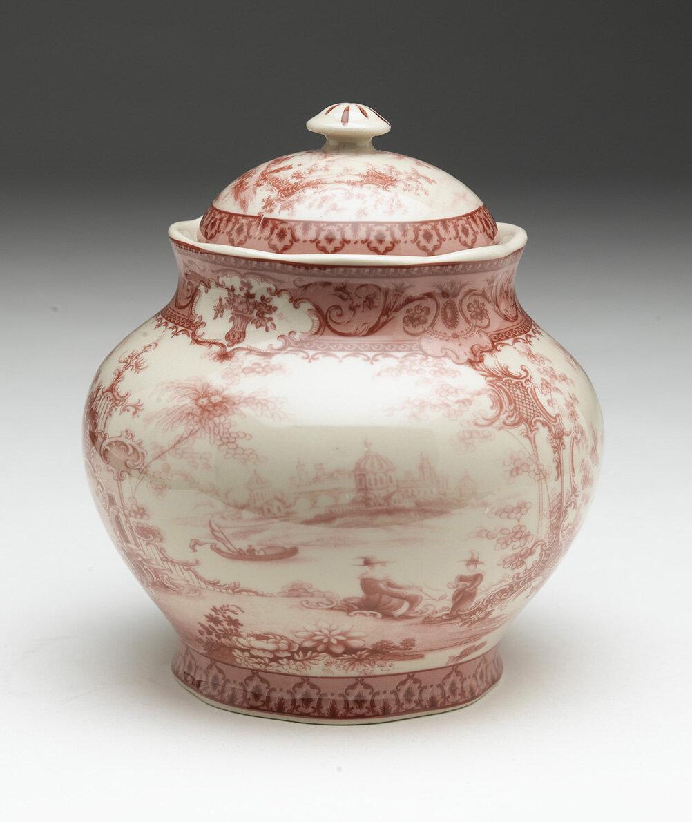 Porcelain storage jar