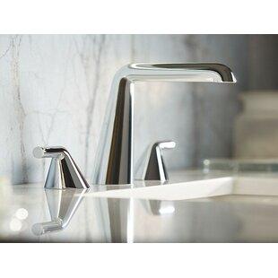 Kallista Taper by Bjarke Ingels Widespread Bathroom Faucet with Drain Assembly