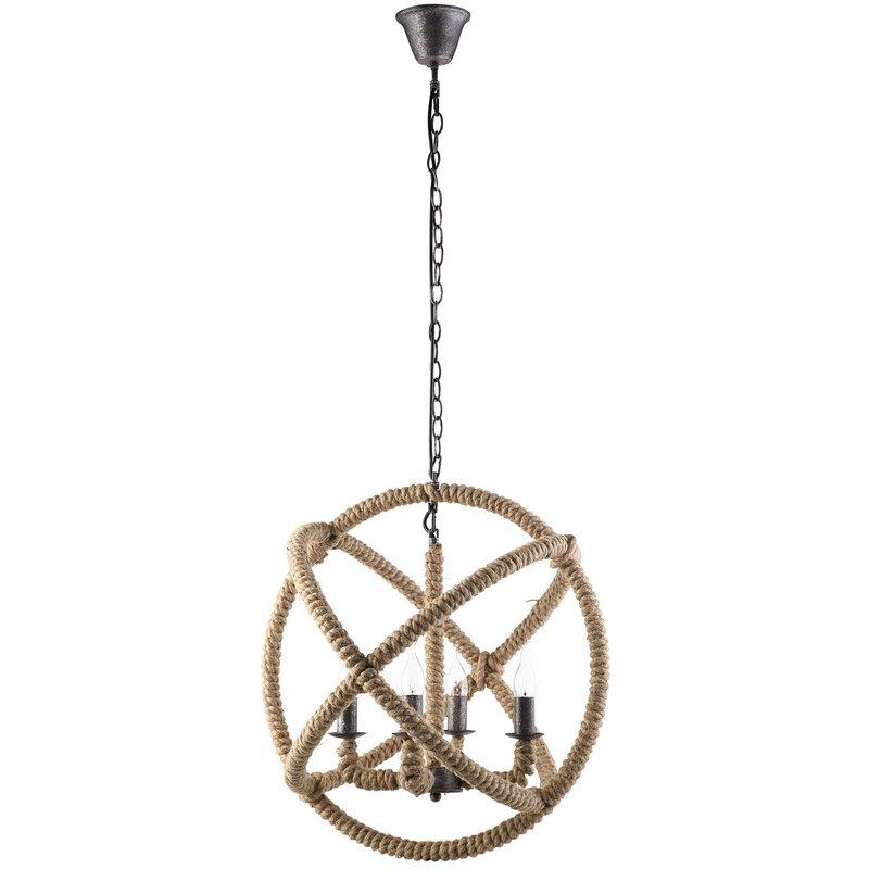 Intention 4-Light Globe Chandelier