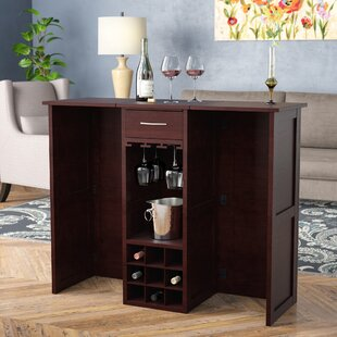 Andover Mills Coral Sea Cabinet with Wine Storage