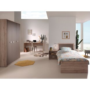Emiel 4 Piece Bedroom Set by Vipack
