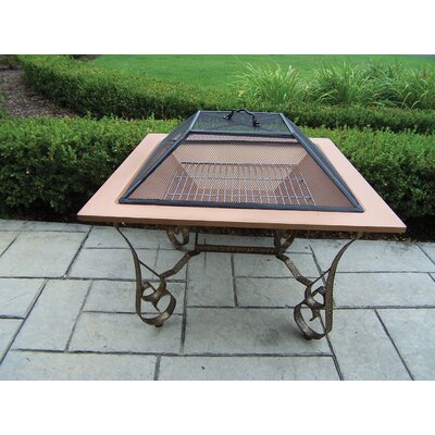 Charlton Home Zonia Stainless Steel Wood Burning Fire Pit
