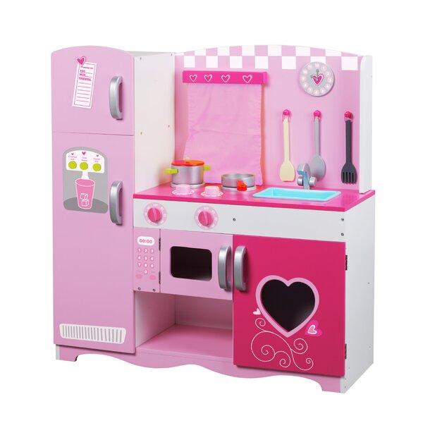 Classic Toy Wooden Kitchen Set U0026 Reviews | Wayfair