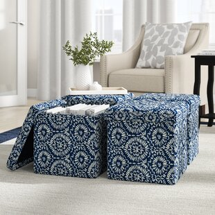 Rubinstein Storage Ottoman (Set of 4)