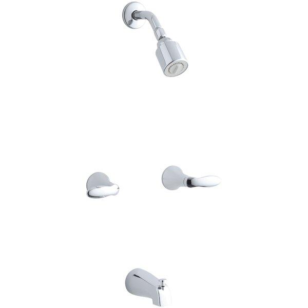 K T15201 4S CP Kohler Coralais Bath/Shower Trim Set With Lever Handles And  Slip Fit Spout, Valve Not Included | Wayfair