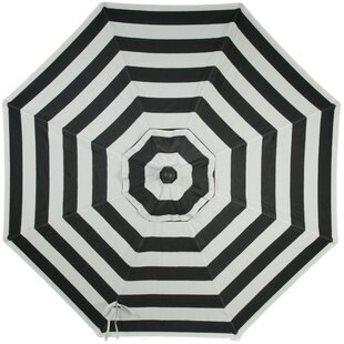 Wiebe Auto Tilt 9' Market Sunbrella Umbrella by Breakwater Bay